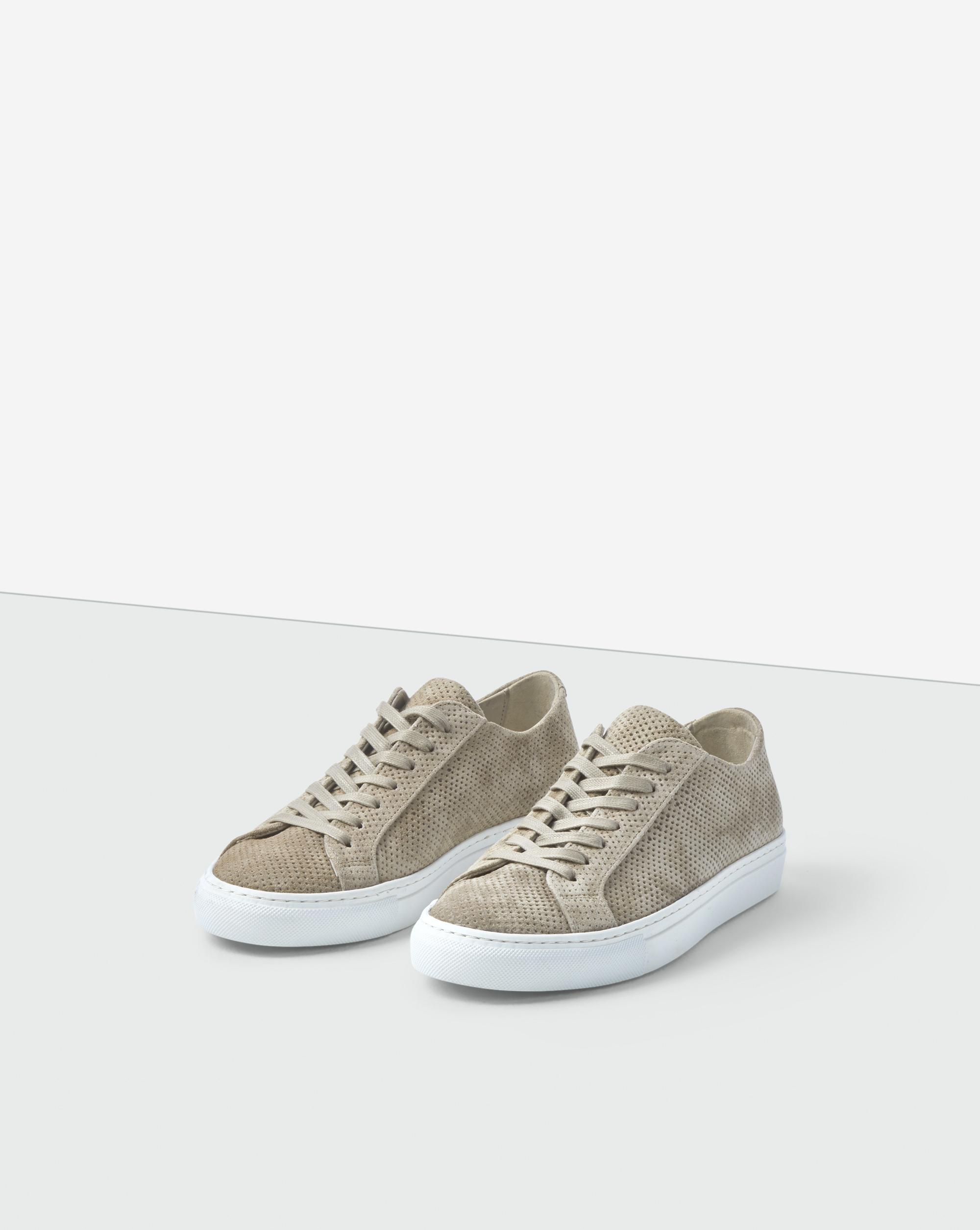Kate Raw Sneaker Dk Chalk Patent