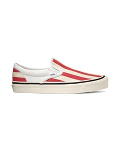 Ua Classic Slip-on 98 Dx (anaheim Factory)  Og Whit Red