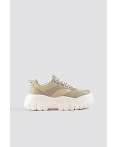 Profile Sole Sneakers Dusty Sand