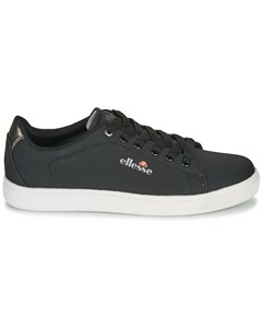 Cannes Elegant Basic Low Sneakers With Laces And Glossy Detail