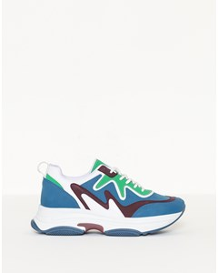 Brilliant Sneaker Blue/green