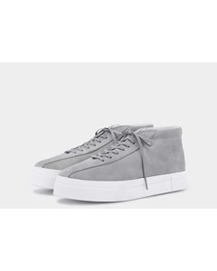 Mother Mid Suede Wg Cement