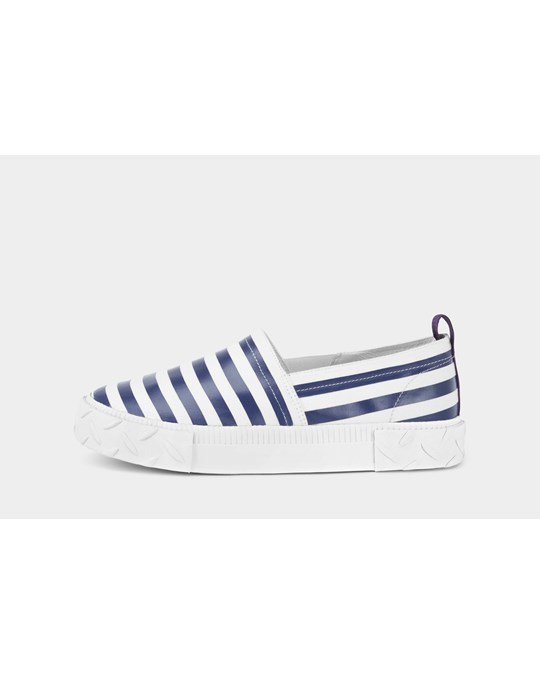 Eytys Viper S-o Canvas Wm White / Midnight Stripe