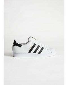 Adidas Superstar White, Black Stripes