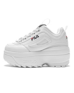 Disruptor Ii Wedge Wmn White / Fila Navy / Fila Red
