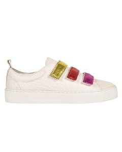 Sydney Leather Wedge Sneakers