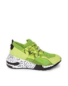Cliff Sneaker B Lime Multi