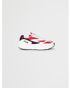 V94m Low Wmn White / Fila Navy / Fila Red