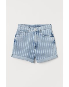 Mom Hw Shorts Blue