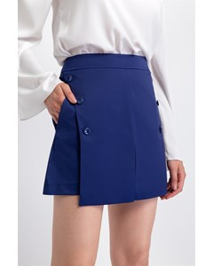 Shorts With Button Detail