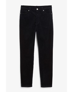 Corduroy Trousers Midnight Blue