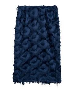 Skirt With Fringing Blue