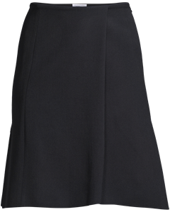 Stretch Pique Skirt Navy
