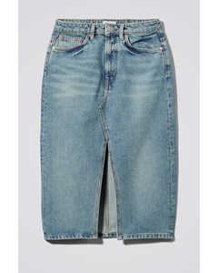 Wynn Denim Skirt San Fran Blue
