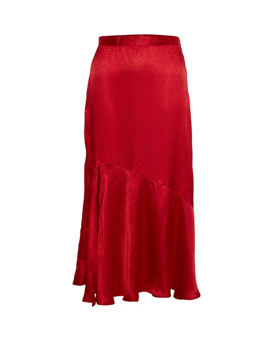 Soaked in Luxury Sxjytte Skirt Barbados Cherry