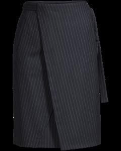 Double Wrap Skirt Navy/chalk