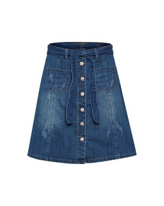 Almacr Denim Skirt Rich Blue Denim