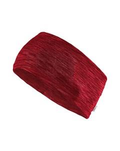 Melange Jersey Headband - Rhubarb Melange