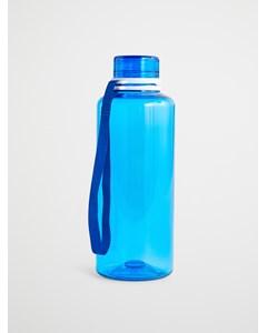Water Bottle  Blue Solid  Blue Ribbon