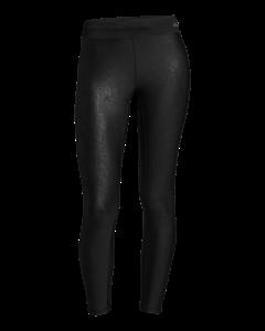 Leatherlike 7/8 Tights Black