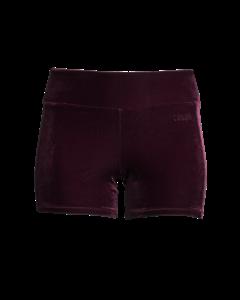 Casall Velvet Hotpants Pulse Purple