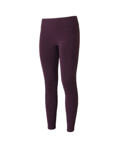 Knitted Brushed Tights Plum Perfect