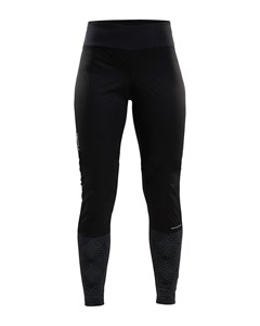 Warm Train Wind Tights W - Black/monument