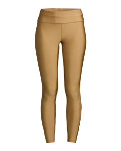 Golden 7/8 Tights Golden Metallic