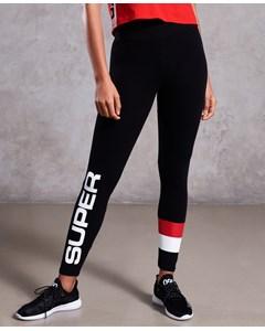 Streetwear Sport Legging Sport Black
