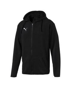 Liga Casual Hoody Jacket-655771 03 Puma Black-puma White