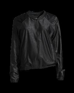 Leather Like Jacket Black