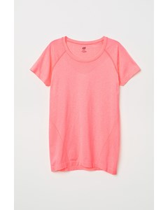 Leo Nahtloses T-Shirt (1) Pink