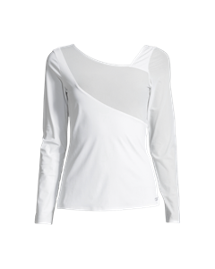 Casall Spiral Long Sleeve White