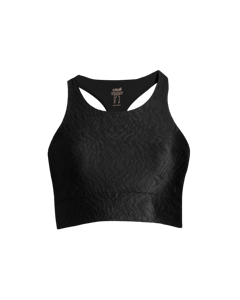 Casall Glam Swirl Sports Top Black