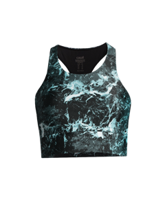 Casall Stone Print Sports Top Stone