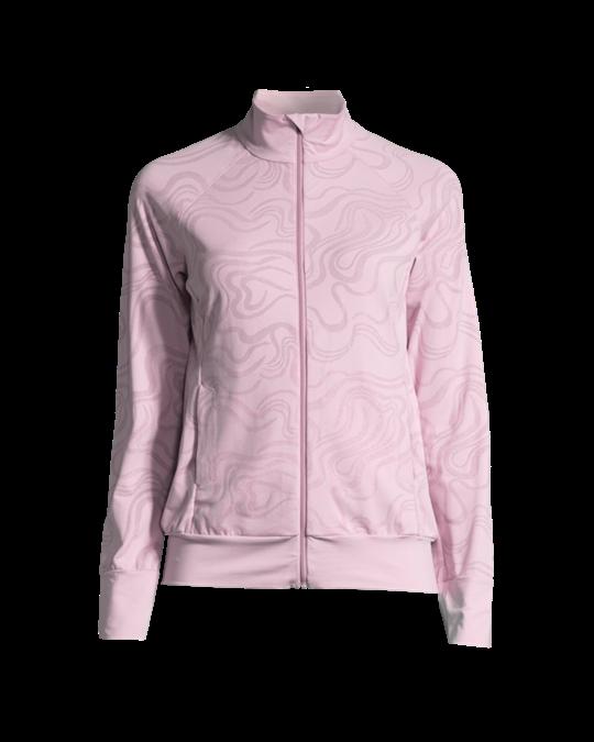 Casall Swirl Jacket Frosty Violet bis zu 70 % | AFOUND