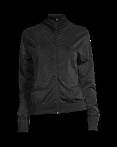 Casall Seamless Sparkle Jacket Black Sparkle
