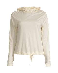 Liquid Tencel Hood Core White