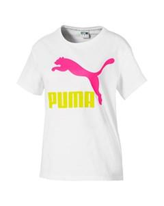 Classics Logo Tee Puma White-rider