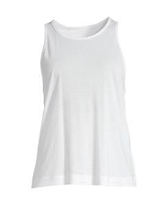 Liquid Tencel Tank White