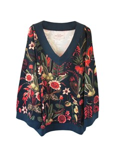 Eden Loose Sweater Eden Print