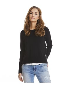 Miss Soft Sweater Almost Black