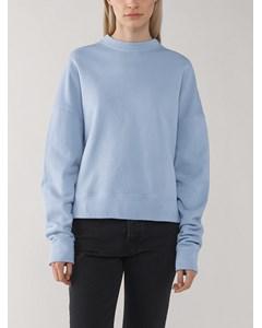Long Sleeved Sweatshirt Dusty Light Blue