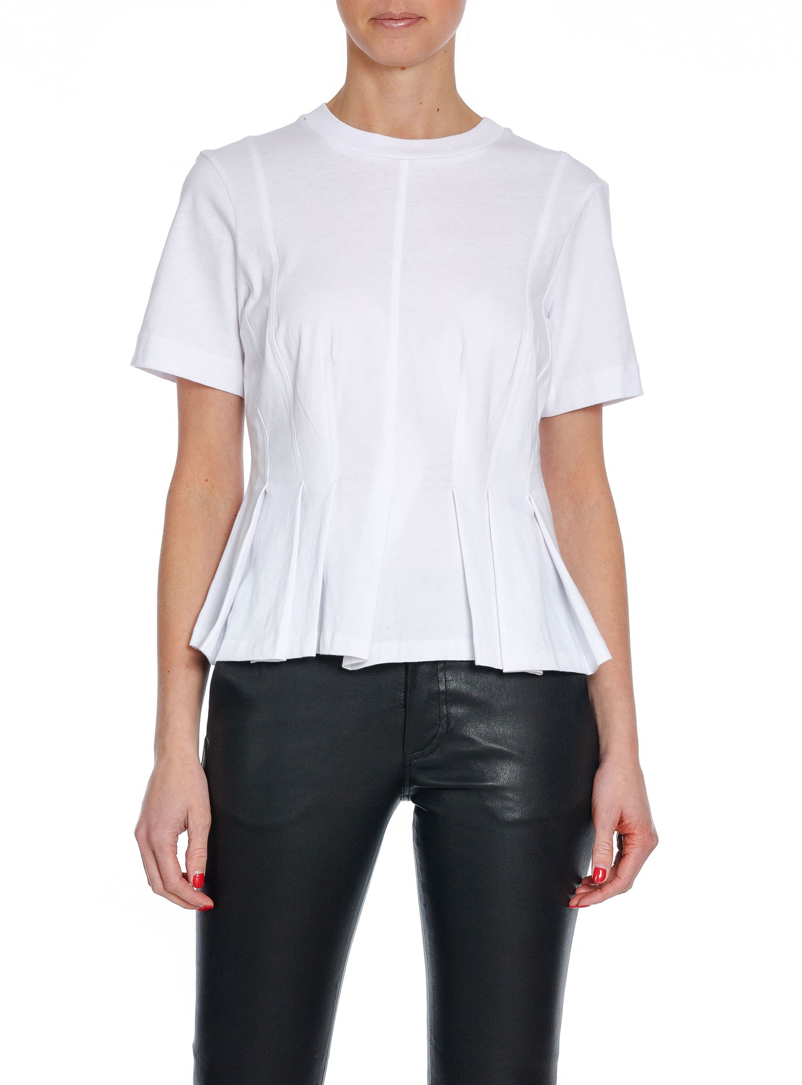 f8ad569c4e0 By Malene Birger T-shirt Roson Pure White | Shoppa Online | Afound