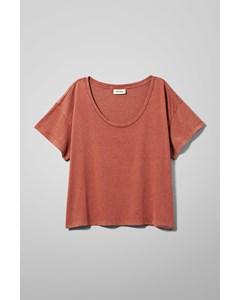 Weekday Bo T-shirt Orange