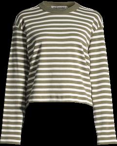 Amory Olive Stripe