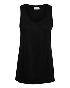 Kaanna Tank Top Black Deep