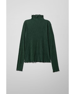 Barbara Structure Long Sleeve Green