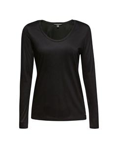 Blouse Woven Long Sleeve Black