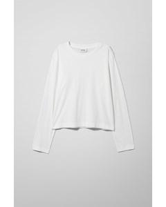 Ryleigh Long Sleeve White